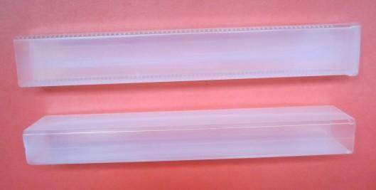 东莞生产PP透明塑胶盒 出口锯条型包装盒