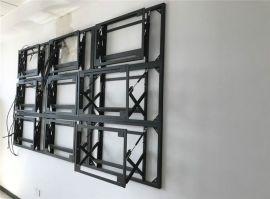 拼接屏支架 拼接屏落地支架 46寸拼接屏前維護支架 55寸拼接屏支架 DID拼接屏支架