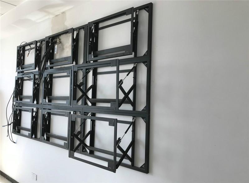 拼接屏支架 拼接屏落地支架 46寸拼接屏前维护支架 55寸拼接屏支架 DID拼接屏支架
