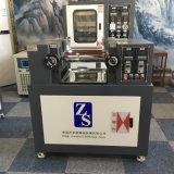 東莞卓勝ZS-401CE開放式煉塑機 電加熱雙輥煉膠機 橡塑塑料矽膠顆粒5寸小型開煉機實驗室用二輥混煉機