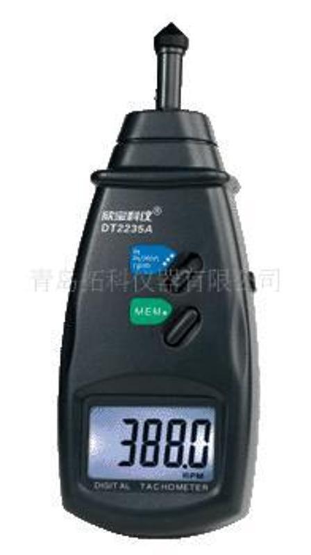 鐳射接觸兩用轉速錶,可測量線速度表DT6236B