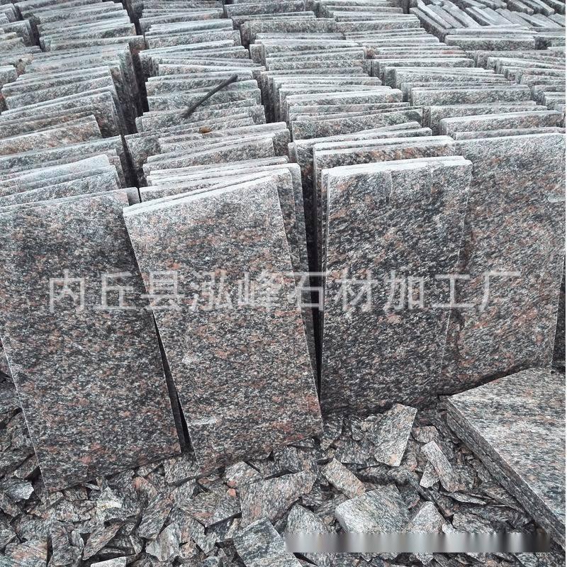 威海蘑菇石厂家牡丹红蘑菇石批发供应