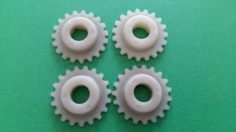 廠家生產鏈輪齒輪 尼龍齒輪 東莞秦碩塑膠齒輪生產廠家