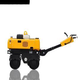 液压转向电磁离合振动840kgRWYL34B手扶压路机*价格可议美国摆线液压马达驱动变速行走法国重载型变量柱塞泵
