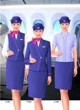 厦门职业装厂家来图来样设计定做空姐服