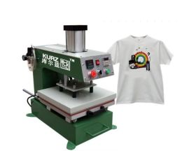 气动单工位服装裁片烫画热转印机