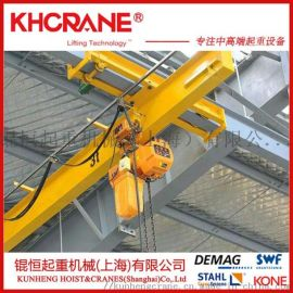 上海厂家销售2T悬挂单梁起重机/移动悬臂吊
