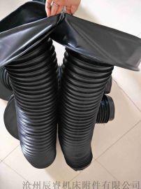 领口式圆形伸缩防护罩,沧州辰睿圆形伸缩防护罩