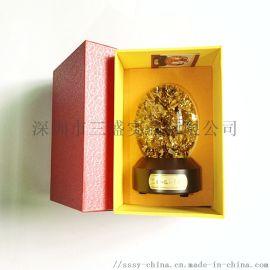 金箔球网红礼品旋转型金箔球高档商务礼品居家礼品