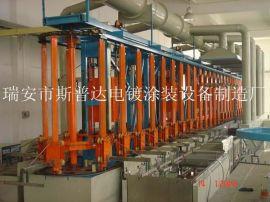 杭州全自动垂直升降环形生产线 电镀环保设备