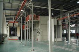 广东专业回收静电喷粉线//回收隧道式烘干炉//自动烤漆隧道炉回收