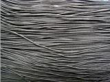润生2mm黑色蜡纯棉绳