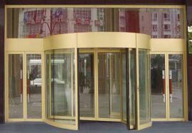 广东铝材旋转门 氟碳喷涂旋转门