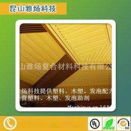 PVC木塑复合材料助剂设备配方技术