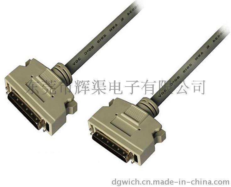 SCSI HD50 to DB25 M/M 連接線