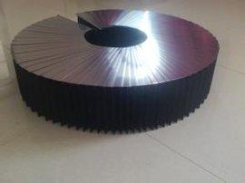 青岛专业生产机床不锈钢板风琴式防护罩