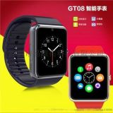智慧藍牙手環GT08智慧插卡手錶藍牙安卓同步資訊微信QQ安卓腕錶