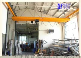 欧式起重机山东厂家直销KBK2 轻型柔性梁悬挂轻轨起重机行车