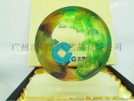 琉璃银行礼品摆件,深圳琉璃工艺品厂家,合作伙伴礼品定制,广州琉璃工艺品厂家
