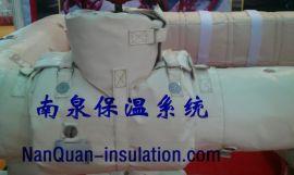闸阀隔热保温套闸阀易脱卸式柔性节能保温衣