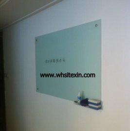 武汉磁性玻璃白板 书写板