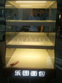 广州涉川展示柜、边岛、中岛柜面包柜