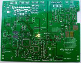 绿油白字,无铅喷锡 FR4 双面PCB板