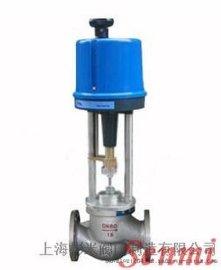 蒸汽电动二通调节阀,导热油电动比例阀
