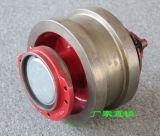 歐式車輪組廠家 直徑250主動車輪組 球墨鑄鐵車輪 輪寬140 槽寬≤100 與科尼端樑介面匹配