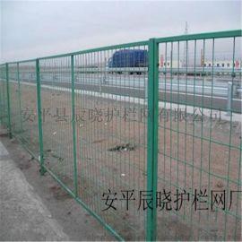 护栏网厂家直销专业生产高速公路护栏网 带边框护栏网 路边