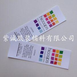 专业生产玩具洗水唛 布标 彩色印唛 服装唛头