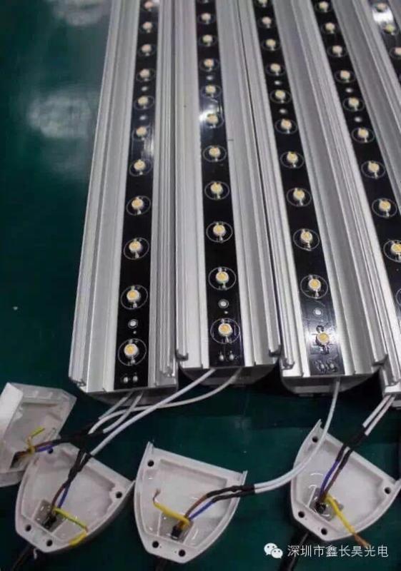 厂家**户外照明LED洗墙灯 建筑物外立面打光洗墙灯 线性投光灯24V