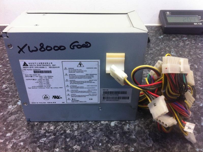 原装HP XW8000工作站电源 450W 333607-001 333053-001 DPS-450EB