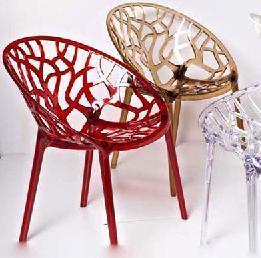 家用有机玻璃椅子 有机玻璃制品 七彩云 亚克力椅子 (156-APC)