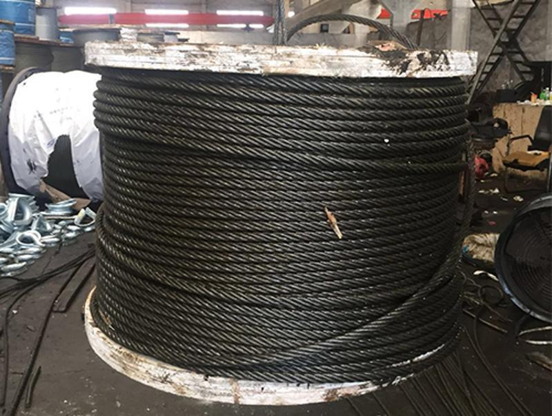 鋼絲繩 塔吊 隨車吊 起重鋼絲繩6*37 FC-19.5mm 可零售可批發