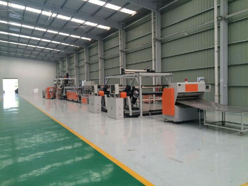 廠家直銷 PET聚酯片材設備 PETG流延片材生產線的公司