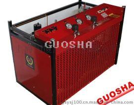 33MPA消防呼吸空气压缩机 300L/min 7.5kw