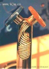 供应不锈钢螺纹管换热器/螺旋缠绕式换热器/螺纹管螺旋缠绕式
