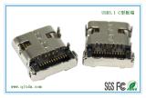 USB 3.0 AF 双层 180°DIP QTD3025-USB-AFJ
