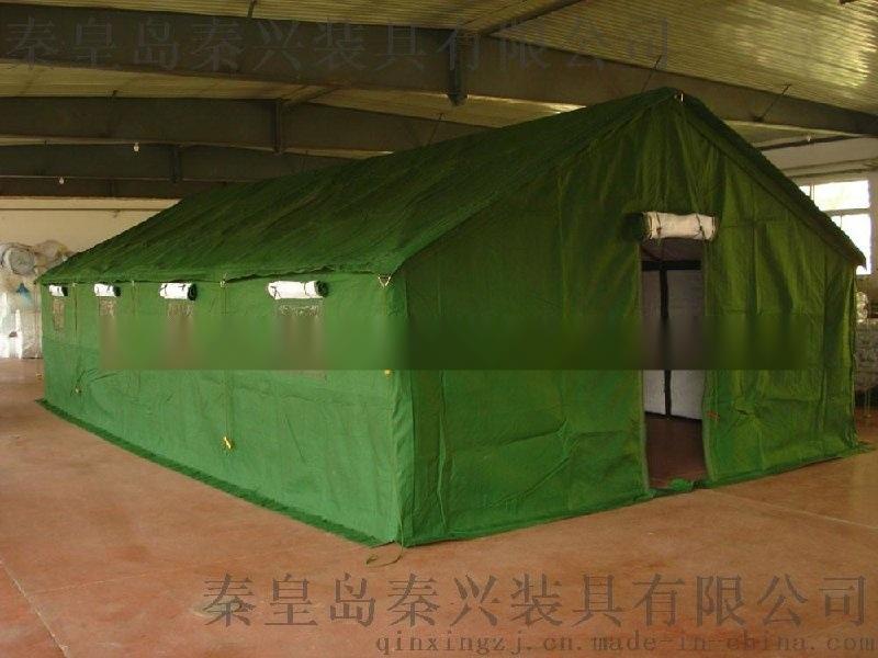 20人 绿框架棉帐篷