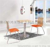 带皮垫软包弯木餐椅,餐厅优质软包弯木餐椅广东鸿美佳加工生产