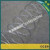 监狱围墙刀片刺绳 BTO-22不锈钢不易生锈 锋利警示防攀爬刀片刺网