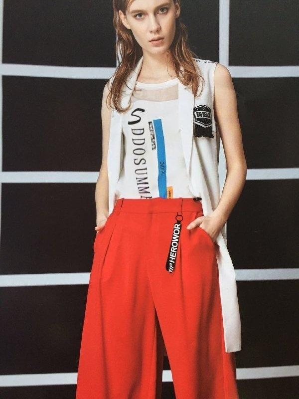 迪笛歐 17夏專櫃  淑女杭州女裝品牌折扣寵   風尾貨批發