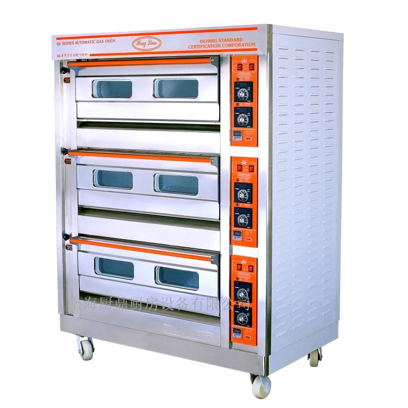 恆聯三層六盤不鏽鋼電烤箱