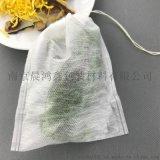 泡茶袋直销抽线无纺布一次性空泡茶袋泡煮炖煎包过滤袋