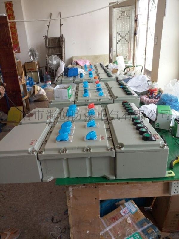 鋼板焊接防爆照明動力配電箱按客戶要求定做