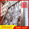 304古銅亮光不鏽鋼隔斷,酒店裝飾隔斷廠家