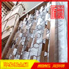 304古铜亮光不锈钢隔断,酒店装饰隔断厂家