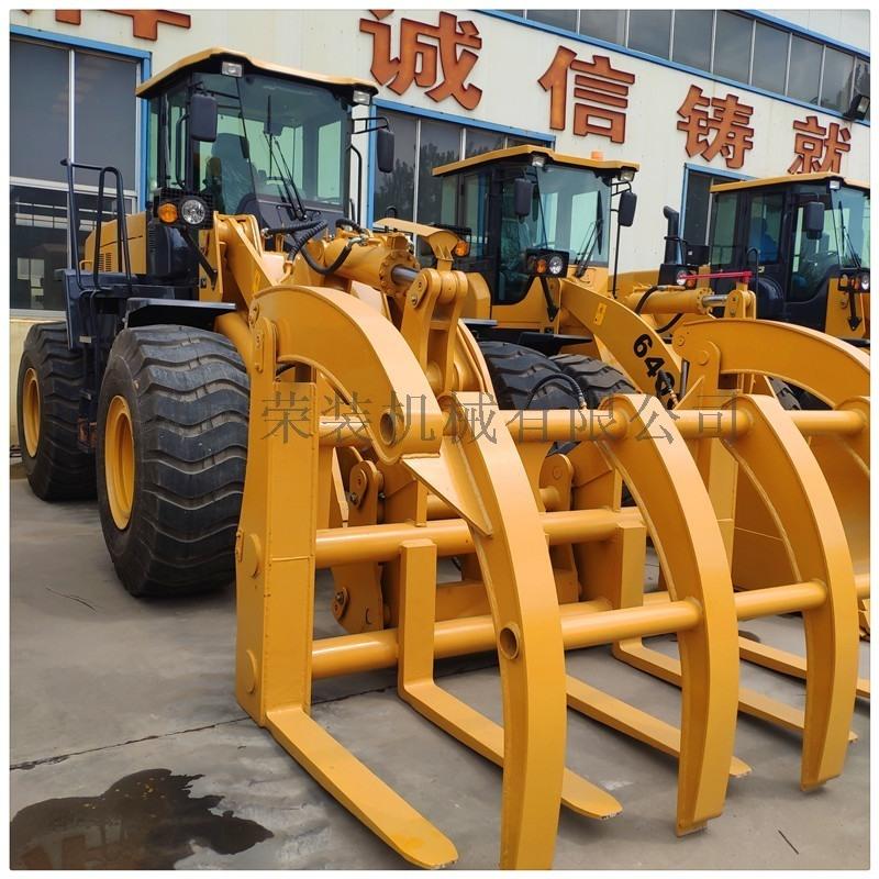 青州山工装载机直销50铲车 5吨抓木机潍柴发动机