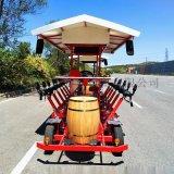 电动啤酒观光车,自行车